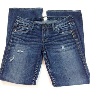 Silver Jeans Jeans - Silver Jeans Eden Bootcut Stretch 28x31-DK05